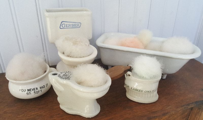 Miniature Bath Fixtures