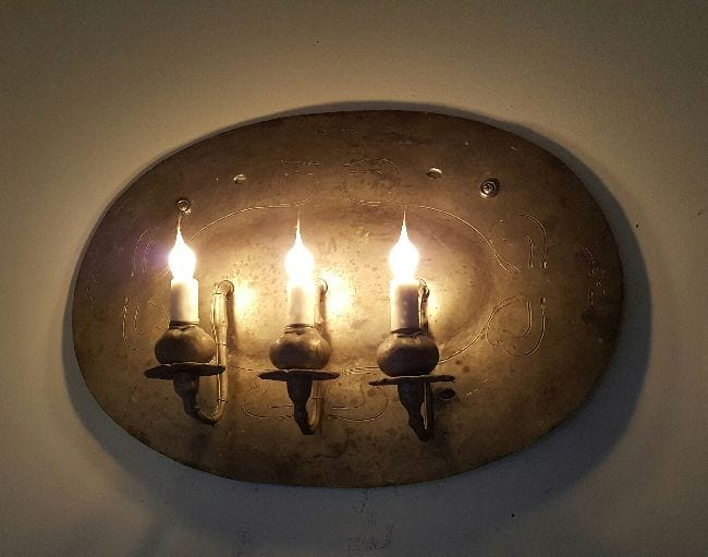 Pair Arts & Crafts Wall Sconces - LooLoo Design