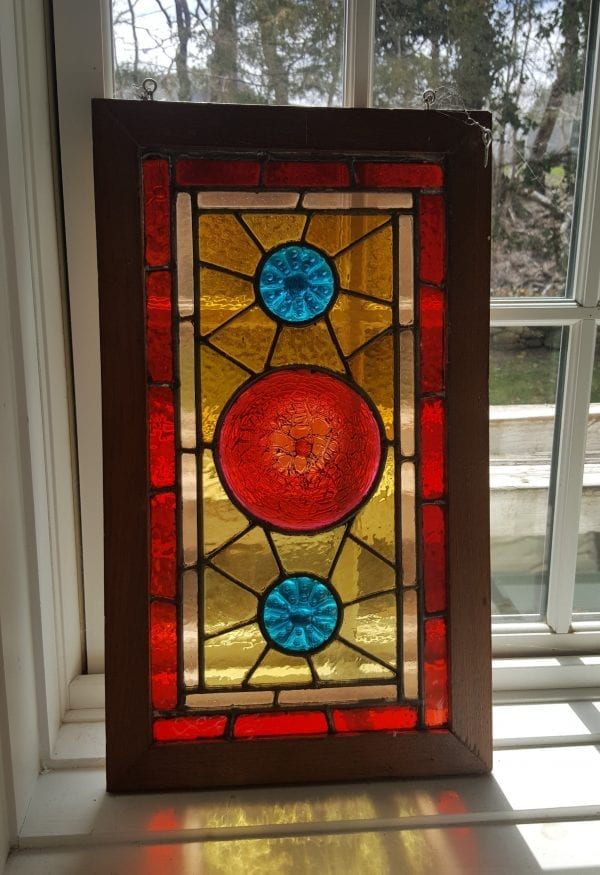 LooLoo Design | Fancy Glass Window c1880s