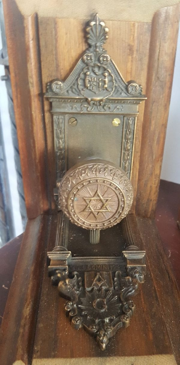 Masonic book ends 1