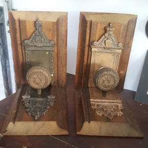 Masonic book ends