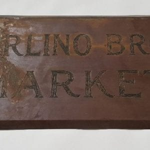 brass Market sign