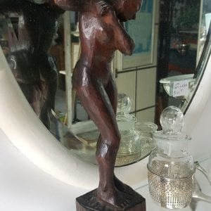 carved bather