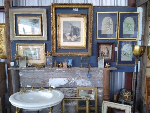 Quality art frames of many styles and sizes.
