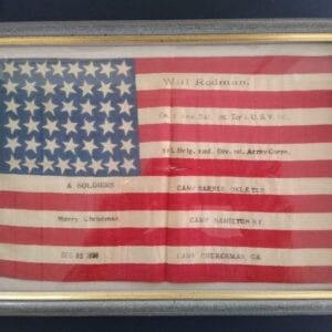 Spanish American War relic dated 1898.